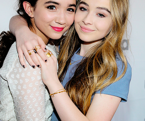 sabrina carpenter and rowan blanchard image
