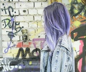 hair and violet image