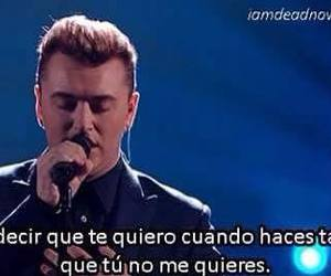 sam smith, frases, and frases en español image