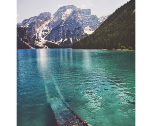 mountains and water image