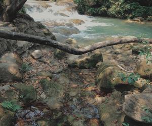 agua, escape, and cascadas image
