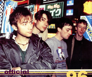 90's, alex james, and blur image