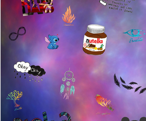 colourful, disney, and nutella image