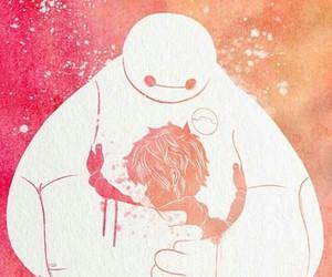 big hero 6, disney, and baymax image