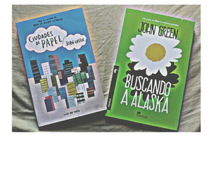 books, buscando a alaska, and john green image