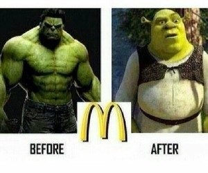 Hulk and shrek image