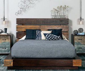bed, deco, and interior image