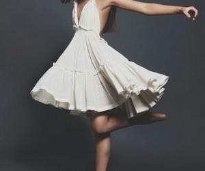 pretty, brunette, and dancer image