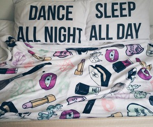 blanket, chanel, and dance image