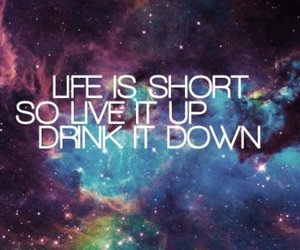 drink, life, and live image