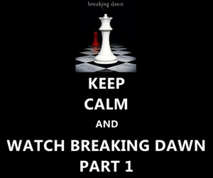 bella and edward, breaking dawn, and keep calm image