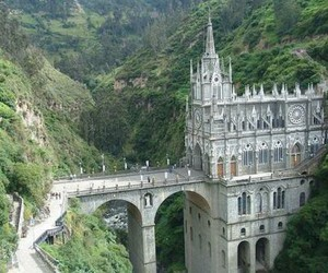 church, colombia, and castle image