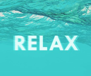 beach, cool, and relax image