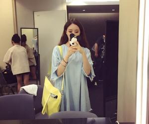 bag, girl, and korean image