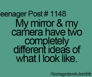 quote, camera, and mirror image
