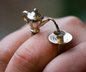 ring, cup, and tea image