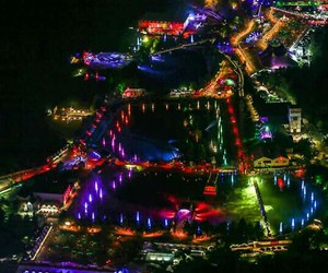 electronica, festival, and Tomorrowland image