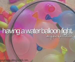 fight, waterballoon, and tumblr image