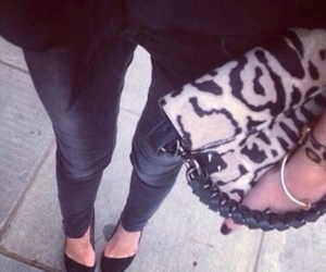 accessories, leopard, and pants image