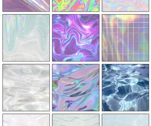backround, color, and holographic image