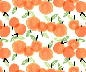 wallpaper, fruit, and orange image