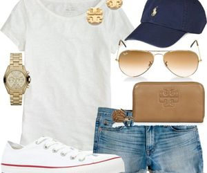 outfit, summer, and converse image