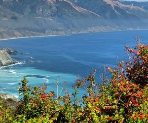 big sur, california, and camping image