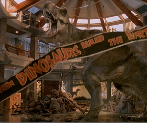 films, Jurassic Park, and hollywood movies image