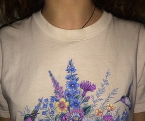 grunge, aesthetic, and flowers image