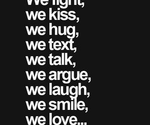 love, hug, and fight image