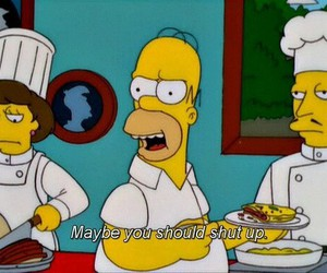 the simpsons, homer, and simpsons image
