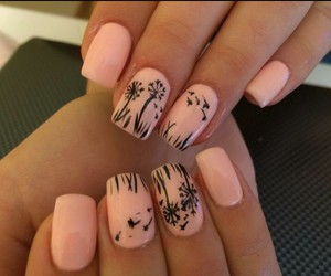 art, nails, and pale image