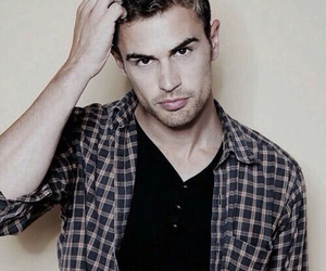 divergent, theo james, and tobias image