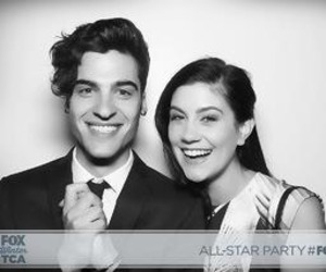 glee, billy lewis jr, and laura dreyfuss image
