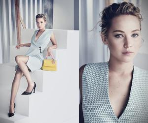 dior, fashion, and Jennifer Lawrence image