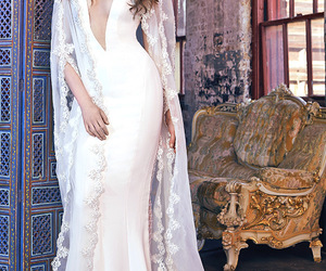 wedding dress and galia lahav image