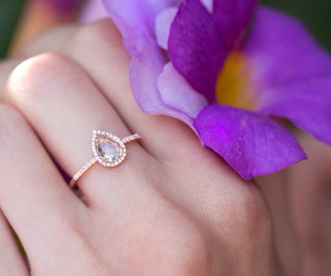 engagement, ring, and luna image