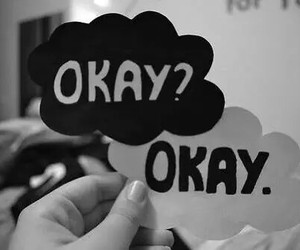 okay, the fault in our stars, and book image