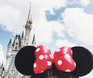 girl, cute, and mickey image