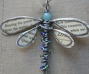 blue, dragonfly, and fly image