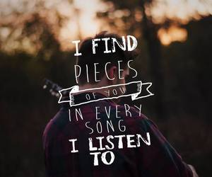 find, listen, and quote image