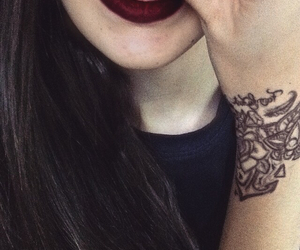 piercing, tatto, and smileypiercing image