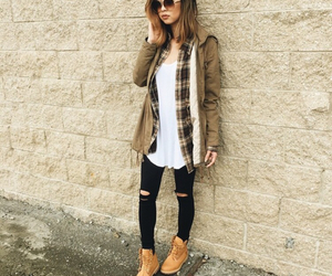 boots, brown, and sunnies image