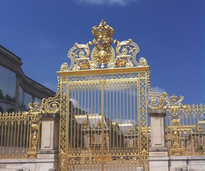france, gate, and gold image