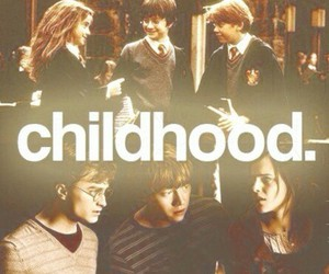 harry potter, hermione granger, and childhood image