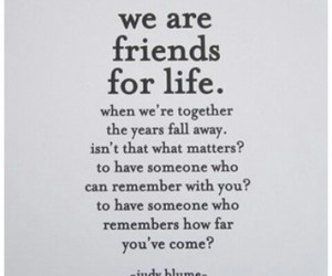 friendship, judy blume, and quote image