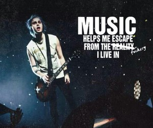 music, 5sos, and michael clifford image