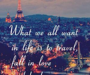 paris, quote, and travel image