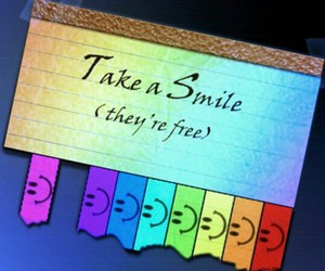 smile and free image