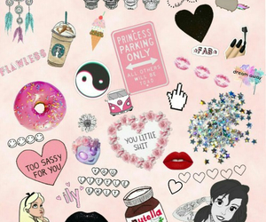 background, wallapaper, and pink image